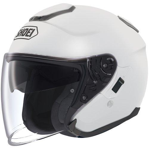 Shoei Solid J-Cruise Touring Motorcycle Helmet - White/X-Large