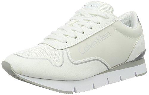 Klein Reflex Ginnastica Jeans top Calvin Da Nylon Delle Tori Donne Microfibra Bianche Scarpe Basso qaAdwUxdgf