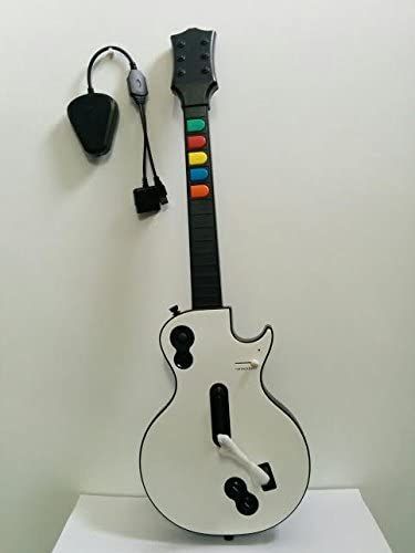 Alechip - Guitarra inalambrica ps3/ps2 2.4: Amazon.es: Informática