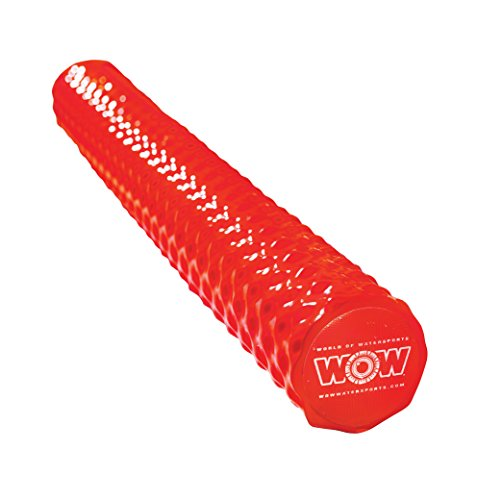 (WOW World of Watersports 17-2064R First Class Soft Dipped Foam Pool Noodle, Red)