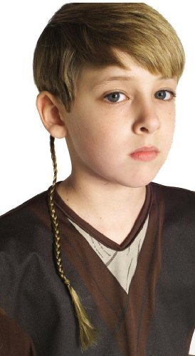Halloween FX Jedi Knight Braid -