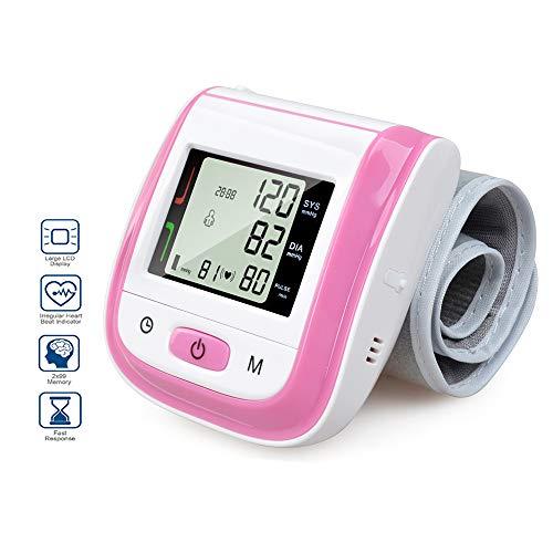 Elera Wrist Blood Pressure Cuff,Fda Approved Blood Pressure Monitor,Blood Pressure Cuff,Automatic Blood Pressure Monitor(Pink) ()
