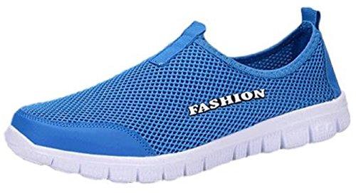 (アリルチョウ) スポーツ スリッポン おしゃれ 軽量 メッシュ 2way スニーカー 運動 室内 靴