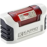 Kapro 946M Magnetic Smarty Level with Clip Belt Housing, 3.86-Inch