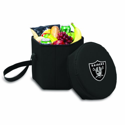 NFL Oakland Raiders Bongo Insulated Collapsible Cooler, Black