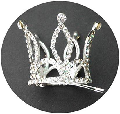 Amazon.com: Tiara para niñas con cristales brillantes y ...