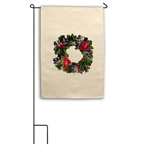 "Style in Print Canvas Yard Garden Flag 18""X27"" Christmas Doo"