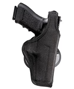 Bianchi Accumold 7500 Black Paddle Holster - Size 8 Colt Mustang .380 3 (Left Hand)