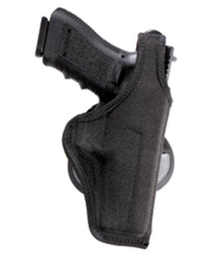 Bianchi Accumold 7500 Black Paddle Holster - Size 8 Colt Mustang .380 3 (Right Hand)