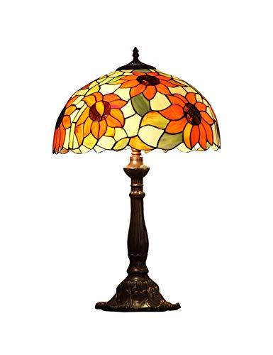 KCoob Lámpara de Mesa Cubierta de patrón de Girasol Elegante ...