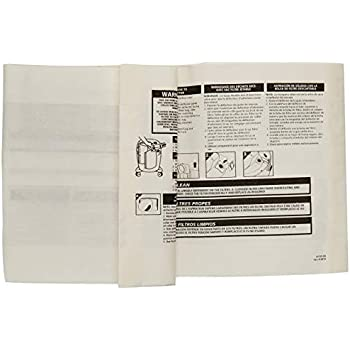Stanley 25-1230 4-5 Gallon Disposable Filter Bag for Wet/Dry ...