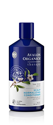 Avalon Organics Tea Tree Mint Scalp Normalizing Conditioner, 14 oz.