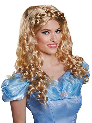 Disney Disguise Women's Cinderella Movie Adult Costume Wig, Blonde, One ()