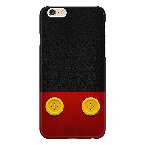 Cover Custodia Protettiva Disegno Ispirato Vestiti Topolino Dress Texture Mickey Mouse Pantaloni Bottoni Design Illustration Case Iphone 4/4S/5/5S/5SE/5C/6/6S/6plus/6s plus Samsung S3/S3neo/S4/S4mini/