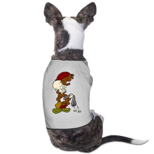 Cute Elmer Fudd Cartoon Pet Dog T Shirt. (Space Jam Costumes)