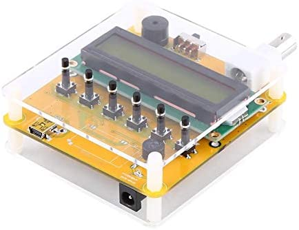 Estink Antennenanalyse/Messgerät für Kurzwellen DC12V 1-60MHz Q9 LCD Digital