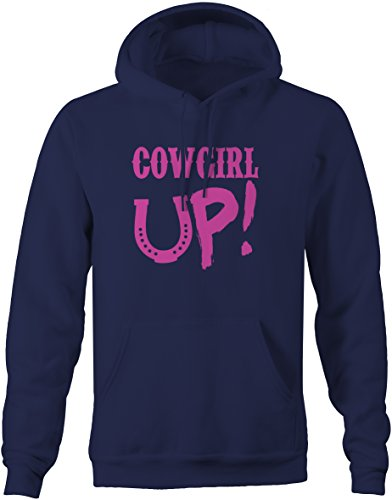 COWGIRL UP! Ladies Rodeo Horse Riding Sweatshirt - Large