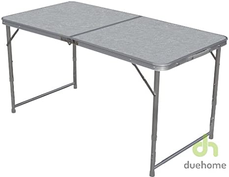 Mesa Plegable de camping 120x60 (para 4 o 6 personas): Amazon.es ...