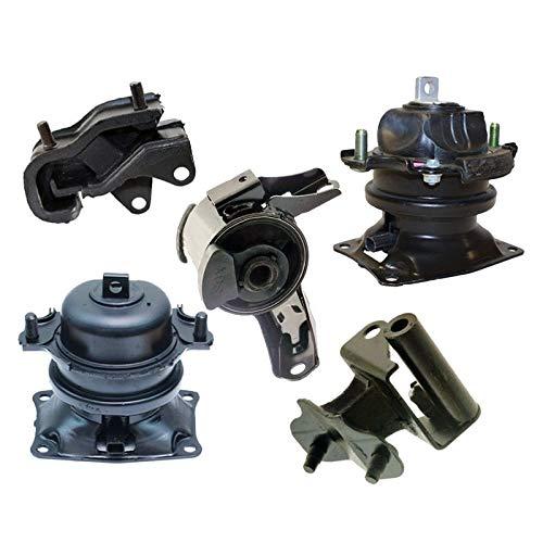 K0733 Fits 2008-2010 Honda Odyssey 3.5L i-VTEC Engine Motor & Trans Mount Set 5PCS : A4575EL A4587, A65017EL A4558, A4557