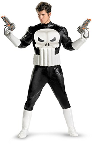 Punisher Costume (Disguise 213921 Punisher Adult Costume X-Large)