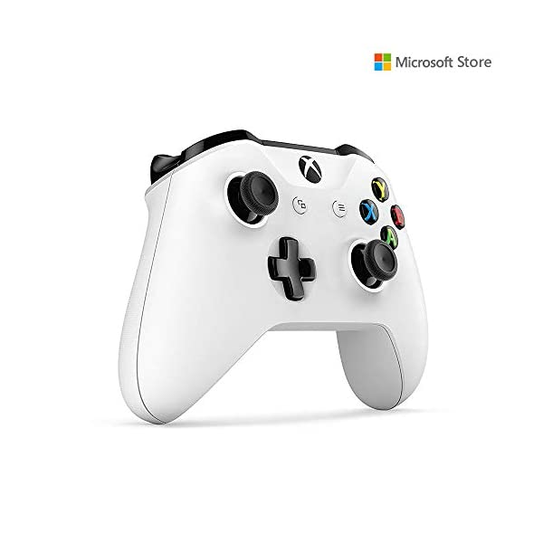 Microsoft Xbox One S 1TB Console with Extra Wireless Controller (White)