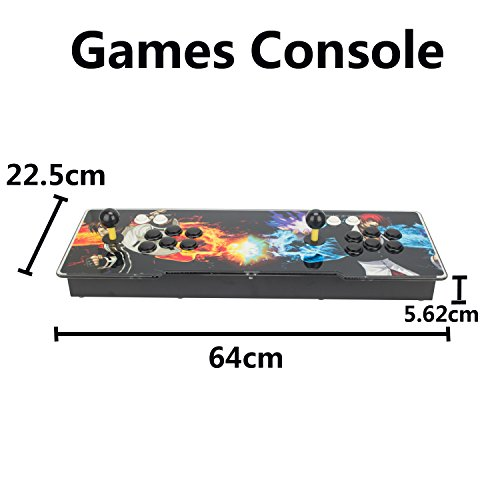 DODOING 2000 in 1 Heroes Box 5 Arcade Fight Video Classic Games Console Gamepad HDMI VGA by DODOING (Image #2)