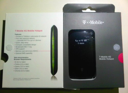 T-Mobile 4G Mobile HotSpot by ZTE (Image #2)