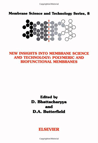 New Insights into Membrane Science and Technology: Polymeric and Biofunctional Membranes, Volume 8