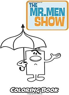 The Mr Men Show Coloring Book Coloring Book For Kids And
