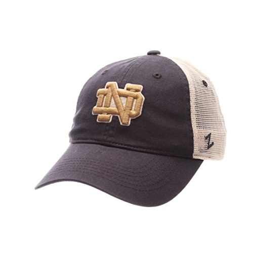 NCAA Notre Dame Fighting Irish Men's University Relaxed Cap, Adjustable Size, Team Color/Stone