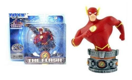 Justice League Cartoon Animated Flash Micro Bust (Micro Bust Sculpture)