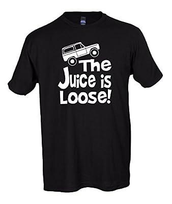 The Juice Is Loose Funny T-Shirt OJ Simpson Parole Bronco