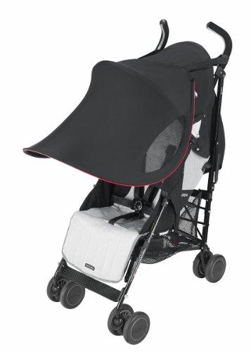 Maclaren ADN63022 - Parasol Extra grande, UPF 50+, para Sillas de paseo plegables tipo paraguas, N