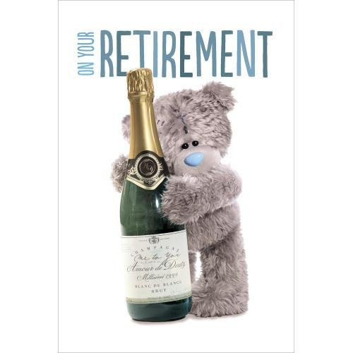 Retirement Me to You Bear Card Carte Blanche