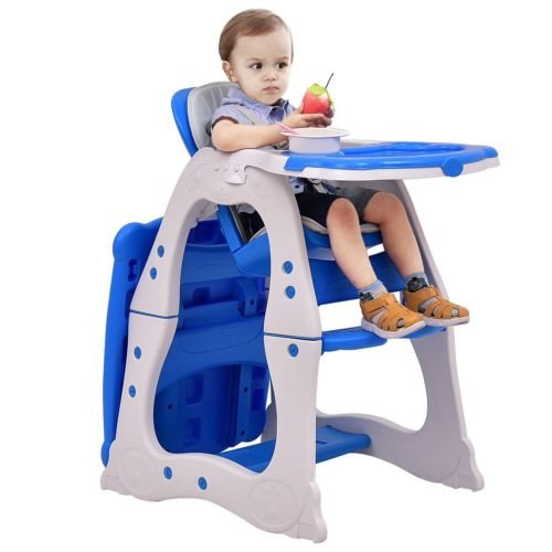BABY 1ST BOOSTER SEAT WITH PLAY TRAY, BLUE - 5