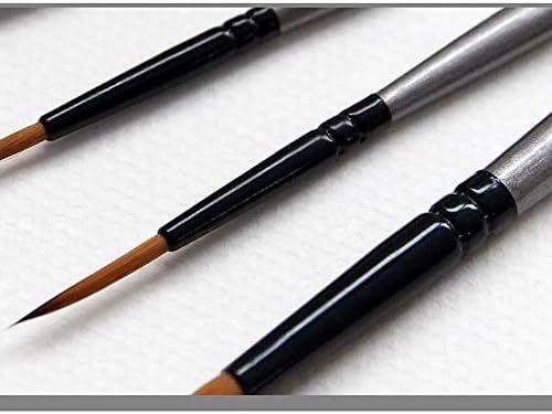 SDAKVDNS 髪を失う絵画、快適なグリップ、容易ではないによって変形、容易ではないために6つのナイロンブラシ、オイルは、ブラシのために美術や芸術絵画絵画