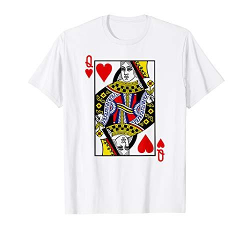 Queen Of Hearts Card Costume (Queen of Hearts | Card Suit Halloween Costume Poker)