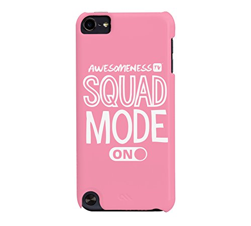 AwesomenessTV: Squad Mode iPod Touch 5G Flamingo pink Barely There Phone (Case Mate Ipod Touch)