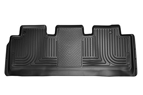 - Husky Liners Custom Fit WeatherBeater Molded 2ND SEAT FLOOR LINERS  for Honda Odyssey (Black)