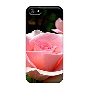 New Fashionable Wade-cases YwV1184CQqd Cover Case Specially Made Case For Ipod Touch 4 Cover(pink Roses Of Emotions)