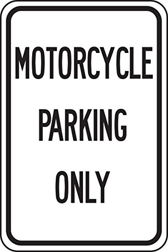 Parking Only Sign Aluminum Top - 2