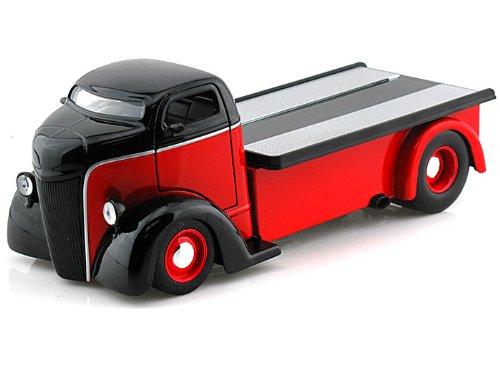 1947 Ford COE JUST TRUCKS 1/24 Red/Black - Antique Toy Trucks - Jada Diecast