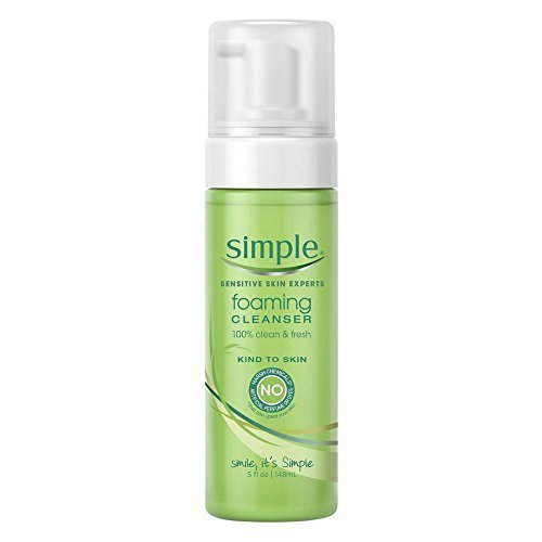 Simple Facial Cleanser, Foaming 5 Oz (Pack of 2) by Simple