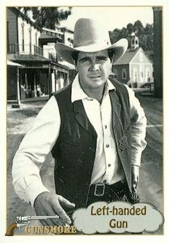 - Buck Taylor as Newly OBrian trading card Gunsmoke TV show 1993 Pacific #29