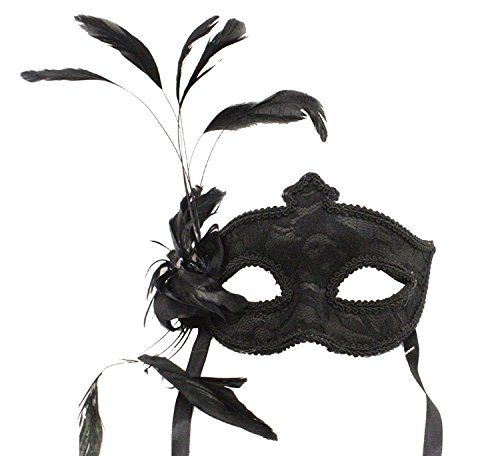 Hagora, Women's Night Lover Masquerade Black Tone Lace