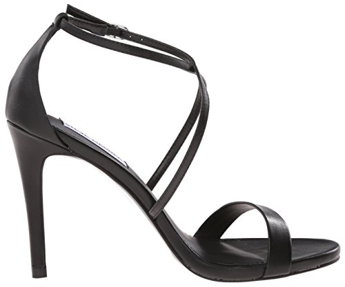 Steve Madden Women's Feliz Dress Sandal Black QtR65