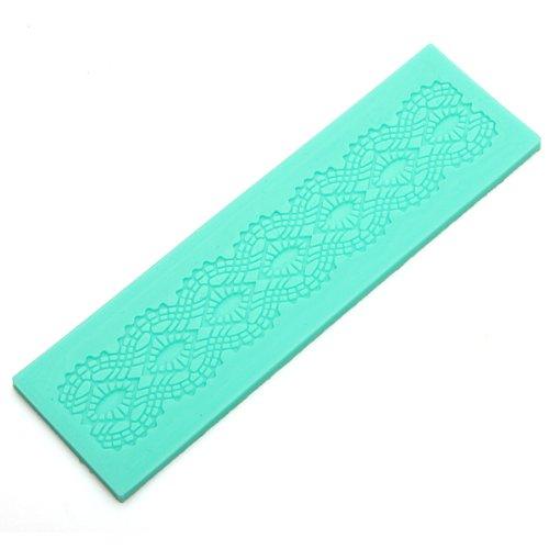 Elegant Lace Silicone Fondant Cake Mold Decoration Baking Mat