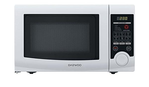 Daewoo KOR-6L3B - Microondas (Encimera, Solo microondas, 20 L, 700 ...