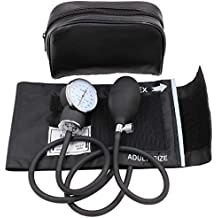 Aneroid Sphygmomanometer Blood Pressure Gauge - LotFancy Manual Blood Pressure Cuff with Zipper Case, FDA Approved, 10-16 Inches