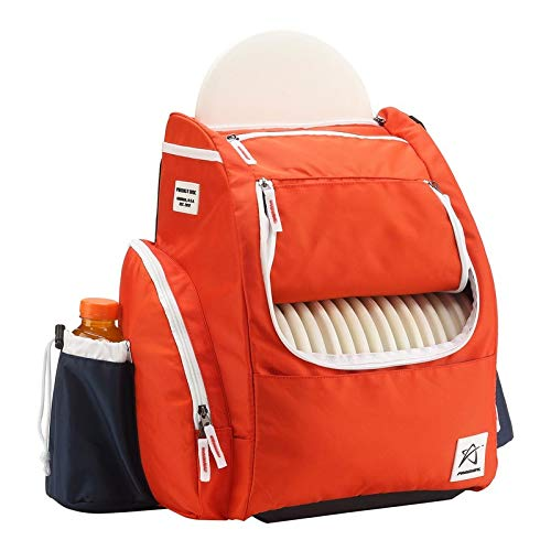 Prodigy Disc BP-2 V2 Backpack Disc Golf Bag - Red by Prodigy Disc